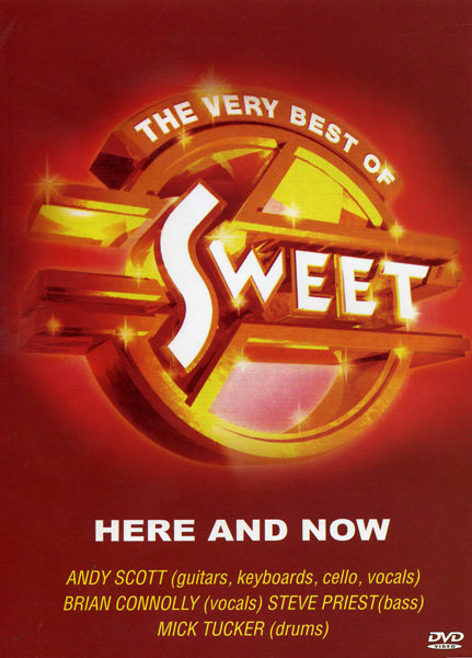 The Sweet - Here and Now на DVD