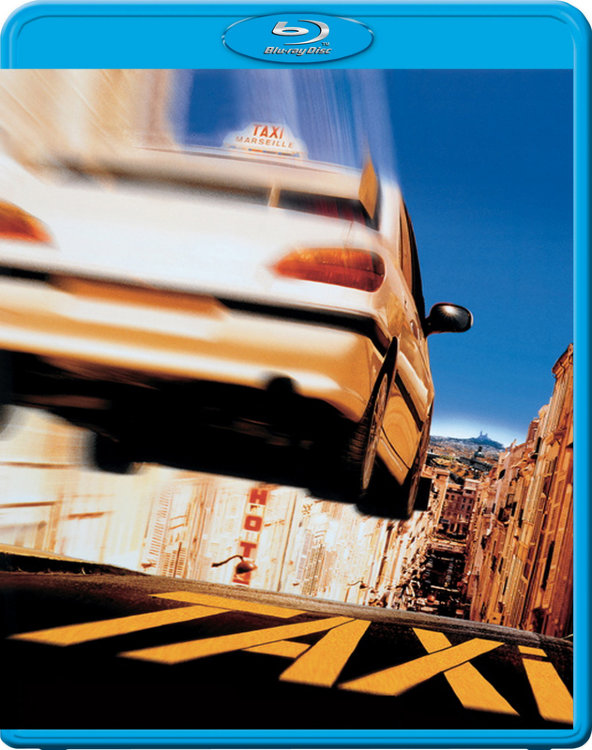 Такси (Blu-ray)* на Blu-ray