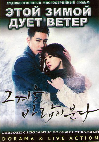 Этой зимой дует ветер (16 серий) (4 DVD)