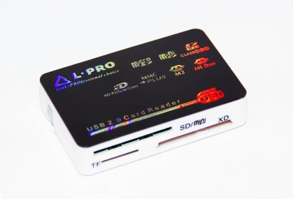 Card reader  L-PRO 1138 All-IN-1 Все виды карт Серебро