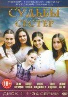 Судьбы сестер (Маленькие женщины) (142 серии) (4 DVD)
