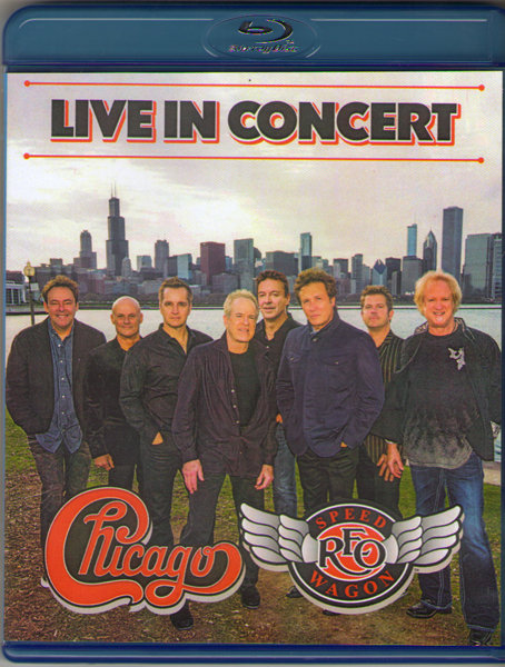 Chicago and REO Speedwagon Live at Red Rocks (Blu-ray) на Blu-ray