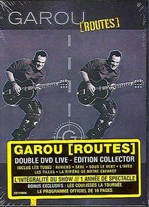 Garou - Routes на DVD
