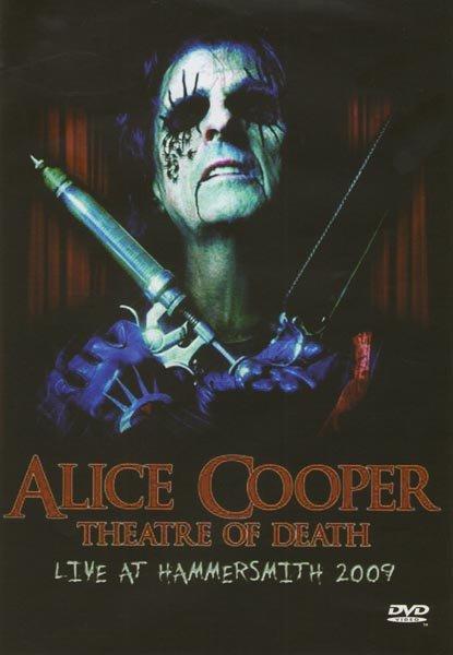 Alice Cooper Theatre of death Live at hammersmith 2009 на DVD