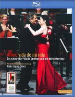 Amor vida de mi vida Zarzuelas by Placido Domingo a Ana Maria Martinez (Blu-ray)