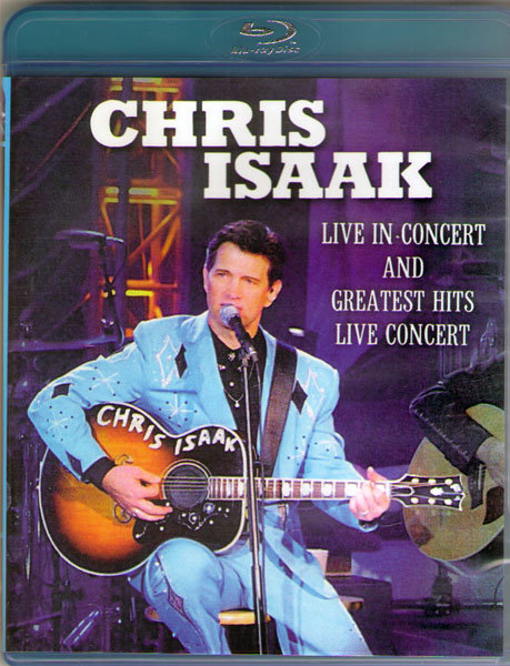Chris Isaak Live in Concert and Greatest Hits Live Concert (Blu-ray)* на Blu-ray