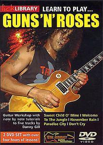 Guns n' Roses на DVD