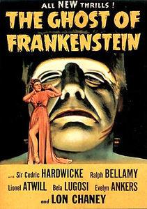 Призрак Франкенштейна  на DVD