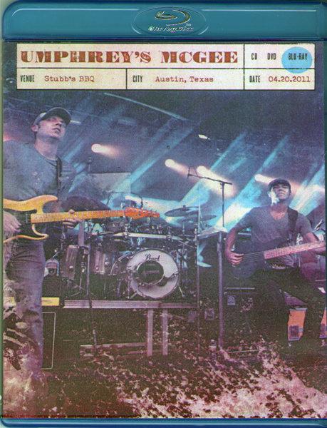 Umphreys McGee Stubbs BBQ Austin TX (Blu-ray)* на Blu-ray