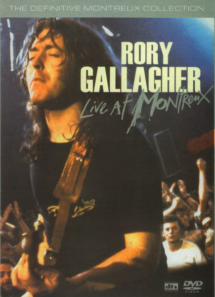 Rory Gallagher Live at Montrenx Подарочный на DVD