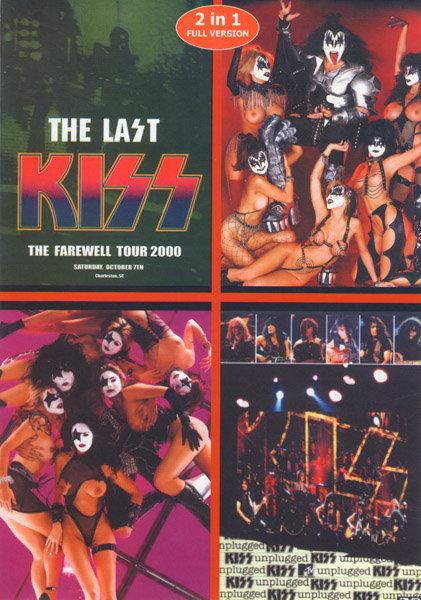 Kiss (Unplugged / The last Kiss-The Farewell tour 2000) Подарочный на DVD