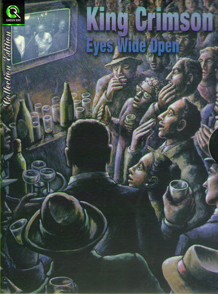 King Crimson Eyes Wide Open (Live in Japan 2003 / Live at the Shepherds bush empire 2000) (2 DVD) на DVD