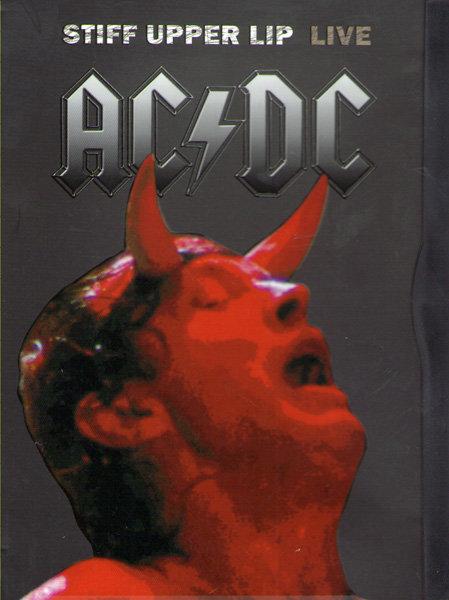 AC DC Stiff Upper Lip LIVE  на DVD