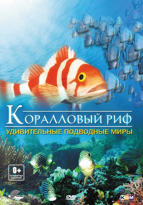 Коралловый риф удивительные подводные миры 3D на DVD