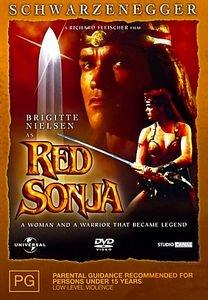 Рыжая Соня на DVD