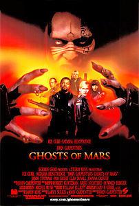 Призраки Марса на DVD
