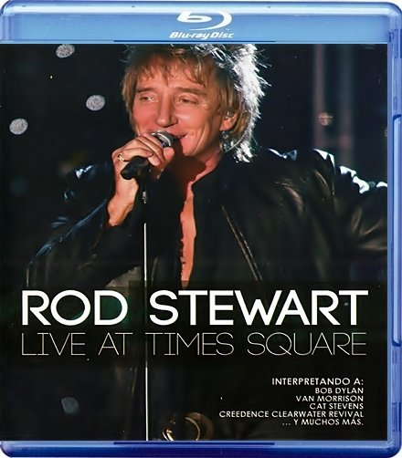 Rod Stewart Live from Nokia Time Square (Blu-ray) на Blu-ray