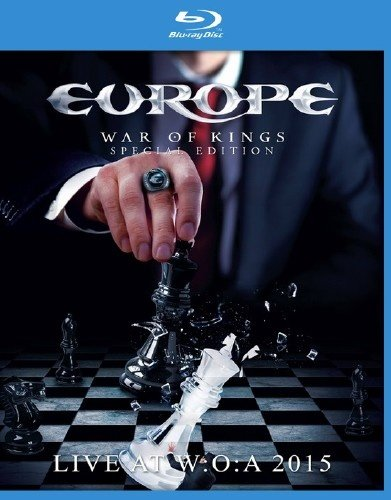 Europe War of King Live at WOA (Blu-ray)