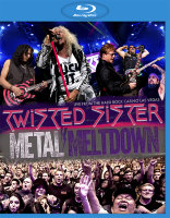 Twisted Sister Metal Meltdown Live from the Hard Rock Casino Las Vegas (Blu-ray)