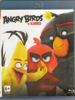 Angry Birds в кино (Злые птички в кино) (Blu-ray)