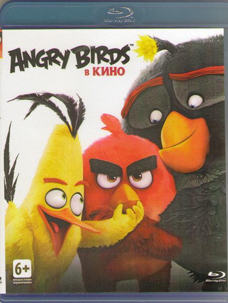 Angry Birds в кино (Злые птички в кино) (Blu-ray)* на Blu-ray