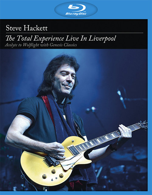 Steve Hackett The Total Experience Live In Liverpool (Blu-ray)*