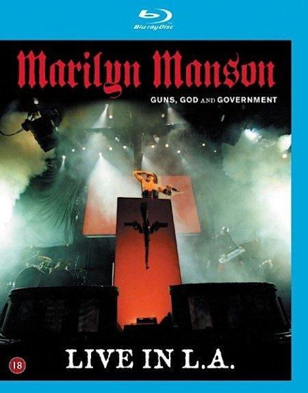 Marilyn Manson Guns God and Government world Tour (Blu-ray)* на Blu-ray