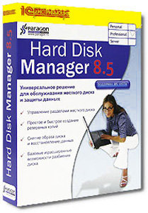 Paragon Hard Disk Manager 8.5 Professional (PC CD)