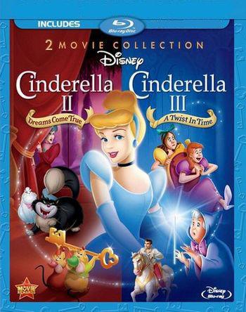 Золушка 2 Мечты сбываются / Золушка 3 Злые чары (Blu-ray)