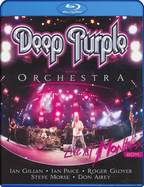 Deep Purple and Orchestra Live At Montreux (Blu-ray)* на Blu-ray