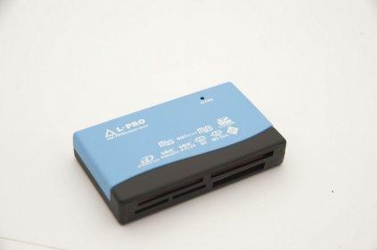 Card reader  L-PRO 1152 All-IN-1 Все виды карт Голубой