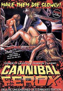 Каннибалы  на DVD