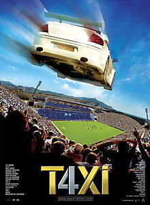 Такси 4 на DVD