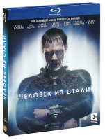 Человек из стали + открытка в подарок (Blu-ray)