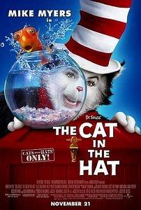 Кот в шляпе на DVD