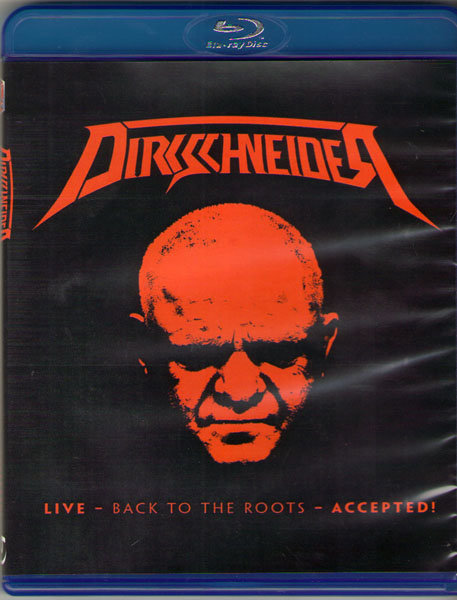 Dirkschneider Live Back To The Roots Accepted (Blu-ray)*
