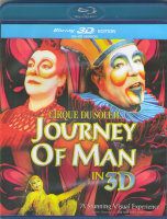 Cirque du Soleil Journey of Man 3D+2D (Blu-ray)