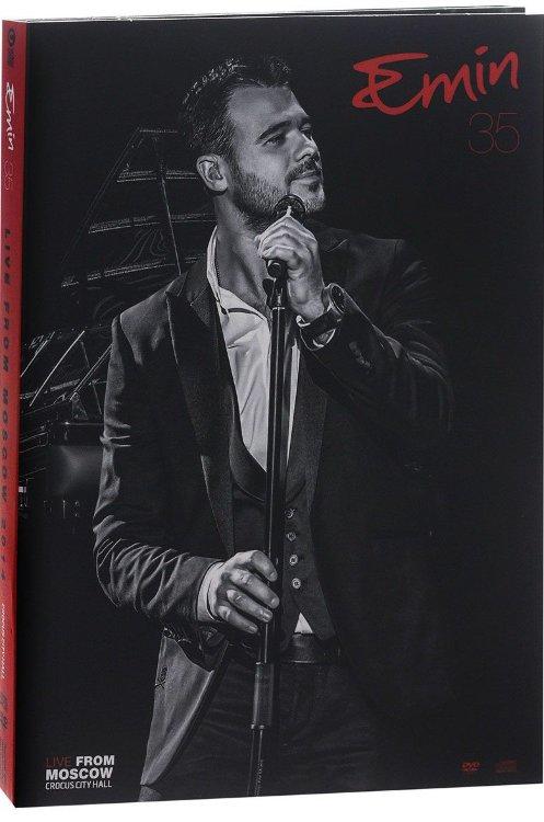 Emin 35 лет Юбилейный концерт в Crocus City Hall (DVD+CD) на DVD