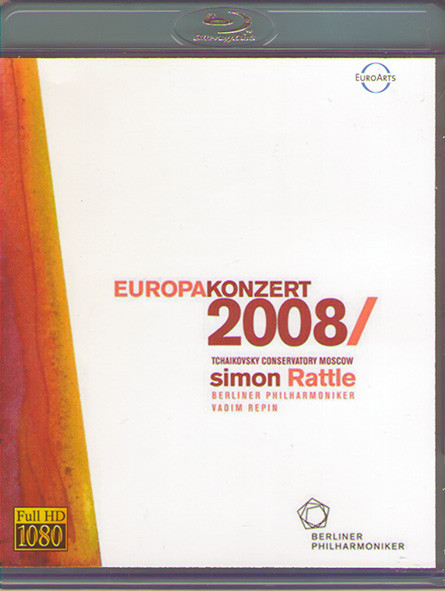 Europakonzert from Moscow (Blu-ray)* на Blu-ray