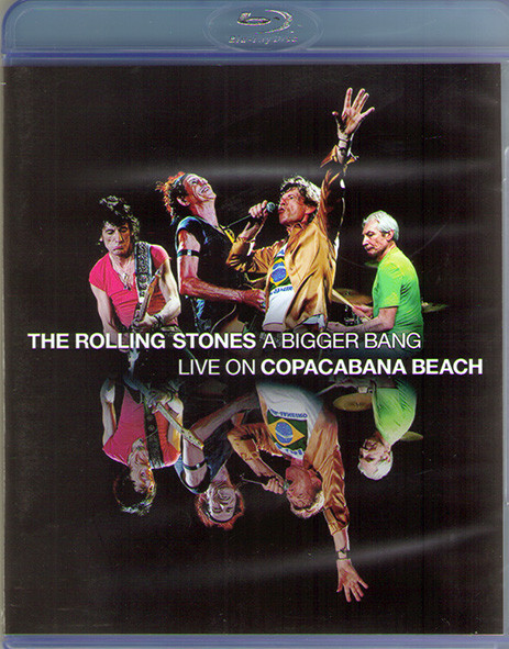 The Rolling Stones A Bigger Bang Live on Copacabana Beach 2006 (Blu-ray)* на Blu-ray