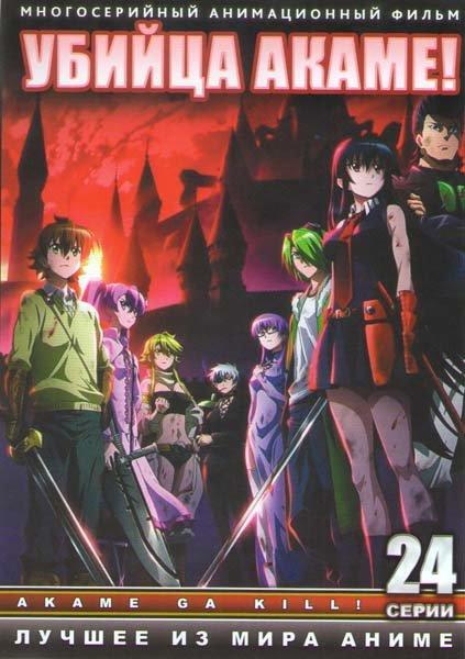 Убийца Акаме ТВ (24 серии) (2 DVD) на DVD