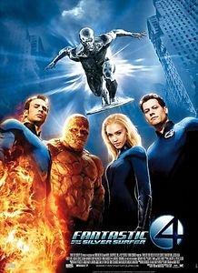 Фантастическая четверка 2: Вторжение Серебряного серфера (Лицензия) на DVD