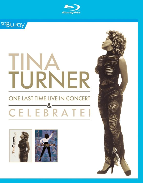 Tina Turner One Last Time Live in Concert and Celebrate (Blu-ray)*
