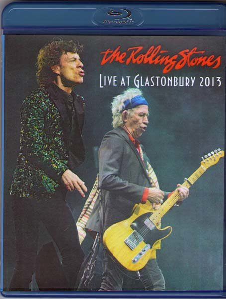 The Rolling Stones Live at Glastonbury 2013 (Blu-ray) на Blu-ray