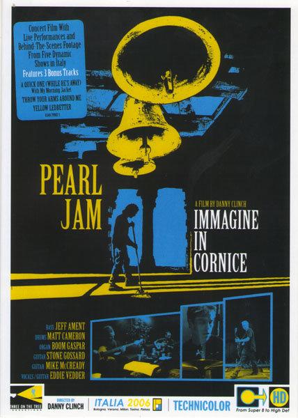 Pearl Jam - Immagine In Cornice на DVD
