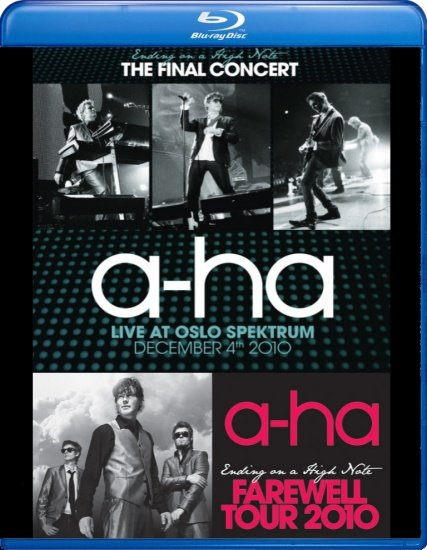 A ha Ending on a high note The final concert (Blu-ray)* на Blu-ray