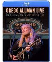 Gregg Allman Live Back to Macon GA (Blu-ray)