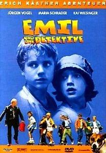 Эмиль и Детективы  на DVD