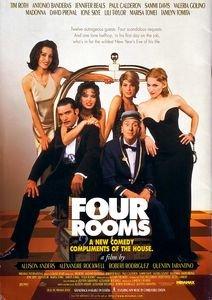 Четыре комнаты на DVD