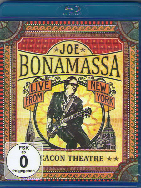 Joe Bonamassa Beacon Theatre Live From New York (Blu-ray)* на Blu-ray